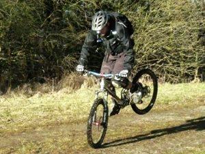 remmen op de fiets