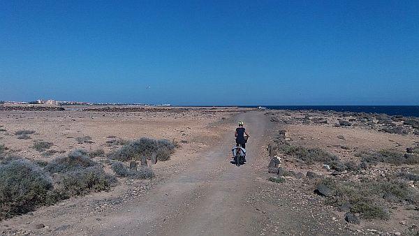 fietsen op fuerteventura