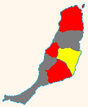 Fuerteventura gemeenten