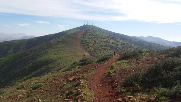 Fuerteventura berglandschap