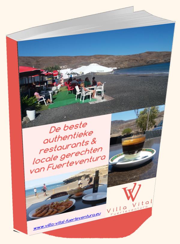 Villa Vital Fuerteventura e-book restaurants & recepten