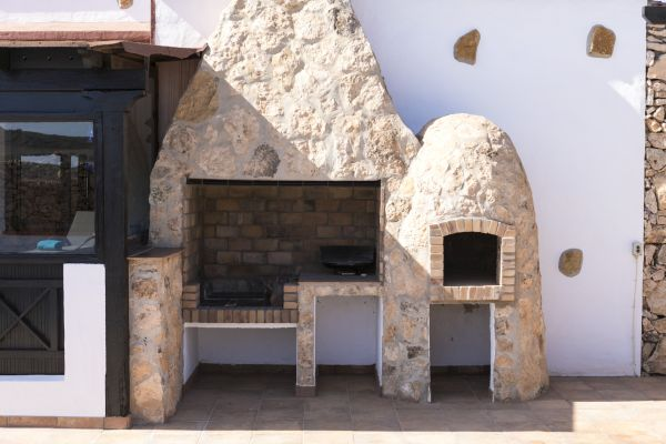 VillaVital BBQ pizzaoven