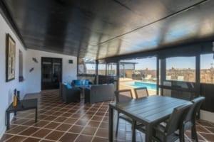 VillaVital veranda / patio