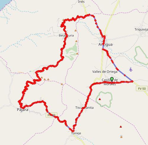 VillaVital rondjeBetancuria map2