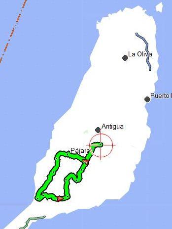 CdM Tesejerague Hermosas Pajara CdM 74km 1300hm kaart1