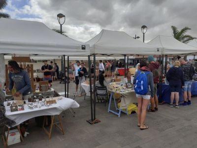 Lajares market