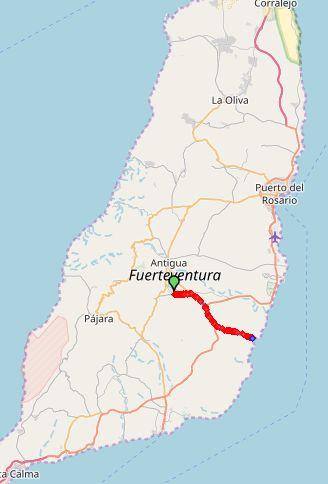 route7 CdM PozoNegro 27km 250hm kaart1