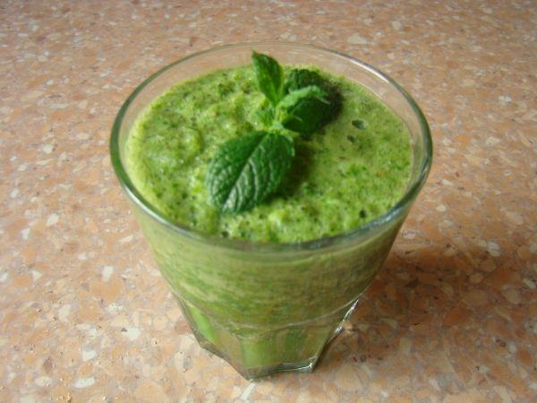 gezonde groente smoothie
