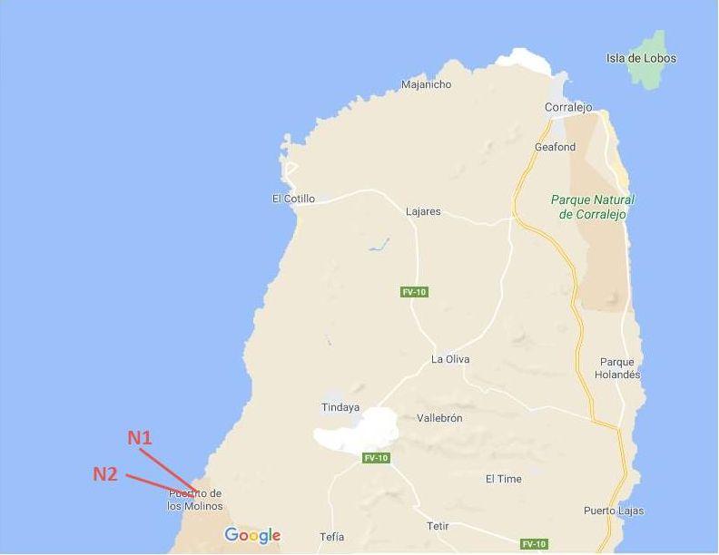 Wandelroutes Fuerteventura noord