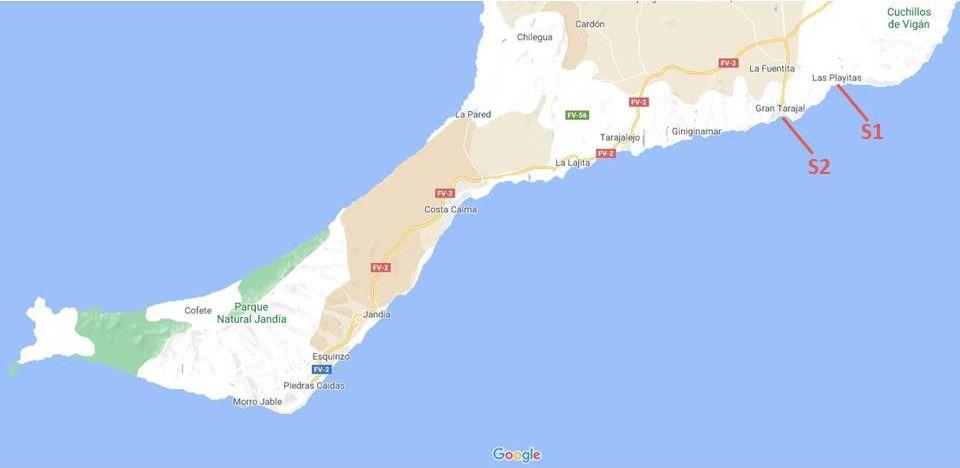 Wandelroutes Fuerteventura: het zuiden