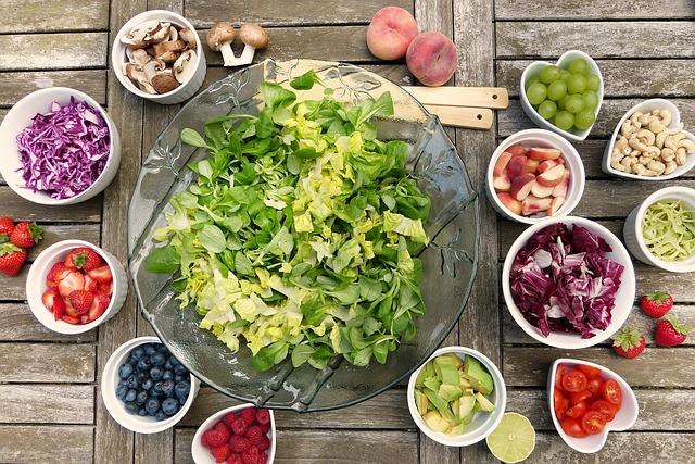 Verse groente, goed middel tegen griep